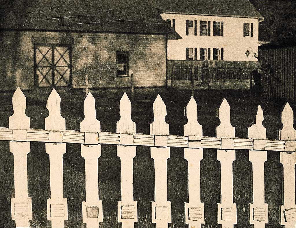 Paul Strand, the White Fence, 1916